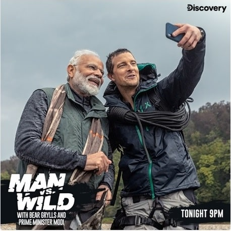 Watch tonight PM Modi on 'Man vs Wild'