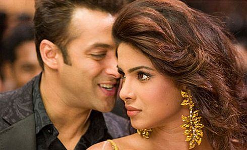 Priyanka sings two songs at Salman's request!