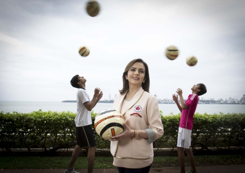Nita Ambani nominated as a member of IOC