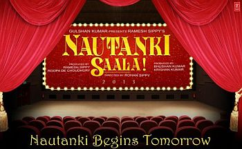 Sippy uses a scene of Sholay to promote his upcoming film-'Nautanki Saala'
