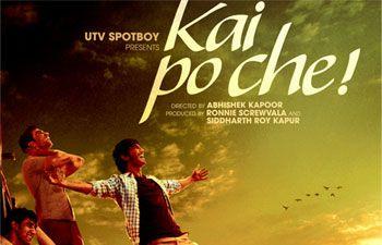 """Kai Po Che!"" satisfies Chetan Bhagat"