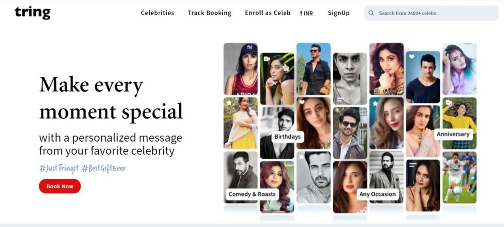 Company called Tring bridges gap between Bollywood celebrities and their fans