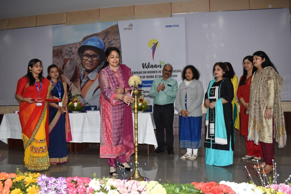 Tata Steel at Noamundi organises a seminar on women in the changing world of work