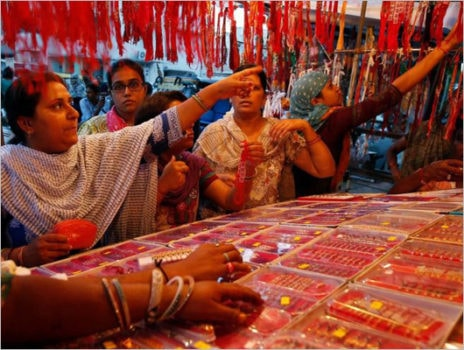 For Rakshabandhan,sisters buy local rakhis,reject Chinese rakhis