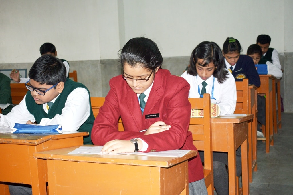 International Benchmark Test conducted at DPS Ranchi