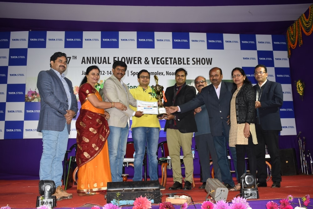 27th Annual Flower & Vegetable Show at Tata Steel, Noamundi concludes