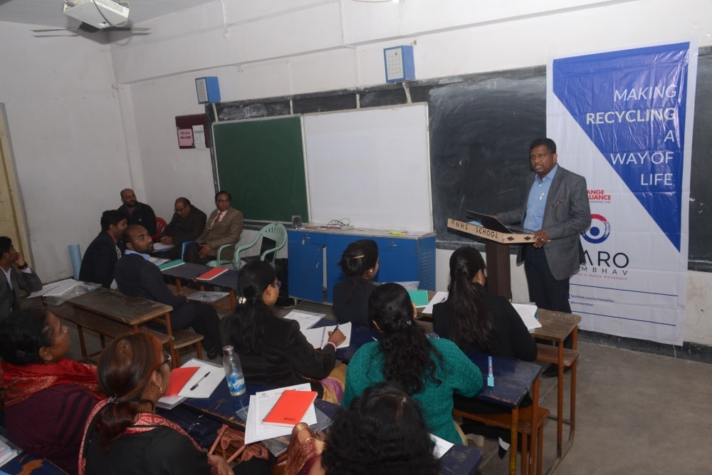 E–Waste Management Workshop held at city school