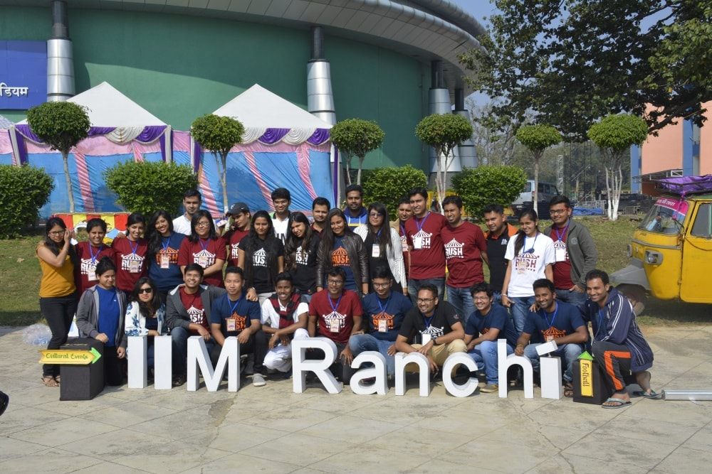 RUSH 3.0: A Sports & Cultural fest of IIM Ranchi begins