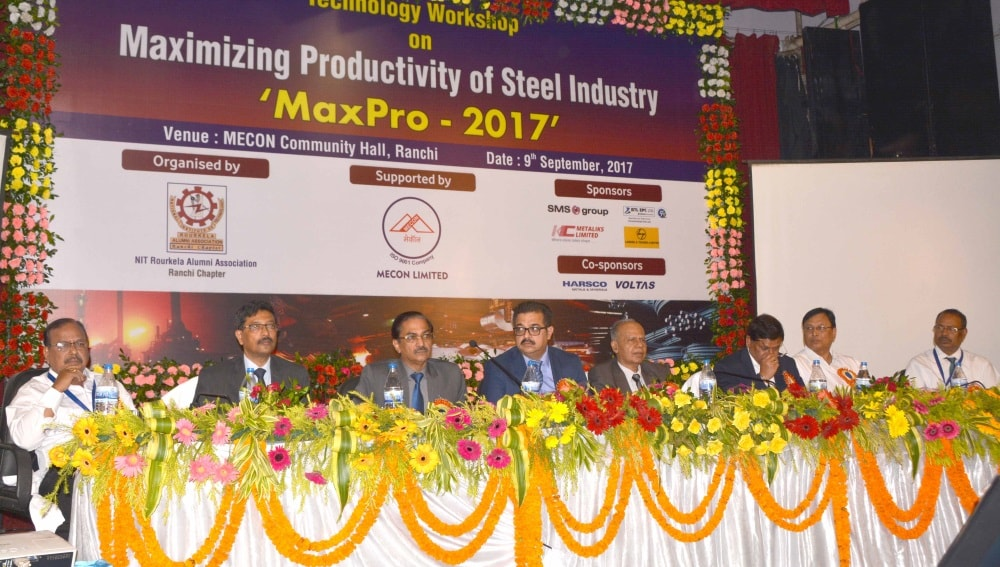 "Technology Workshop ""MaxPro-2017"" organized at MECON"
