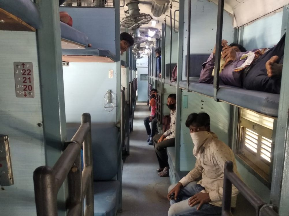SOP notified for Train passengers in India