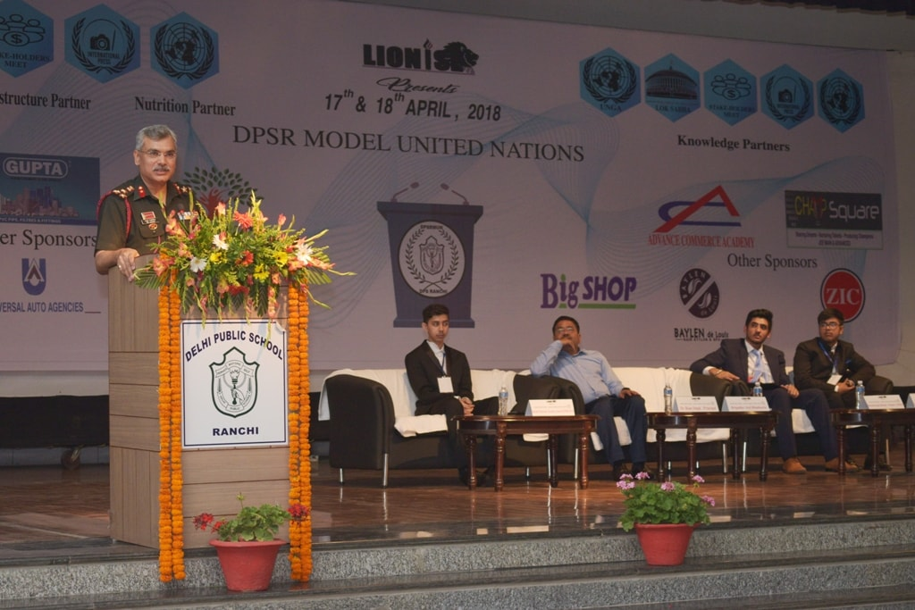 DPS Ranchi conducts model UN conference