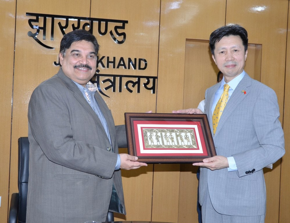 Chinese delegation meets CS, express interest to cooperate in the development of Jharkhand