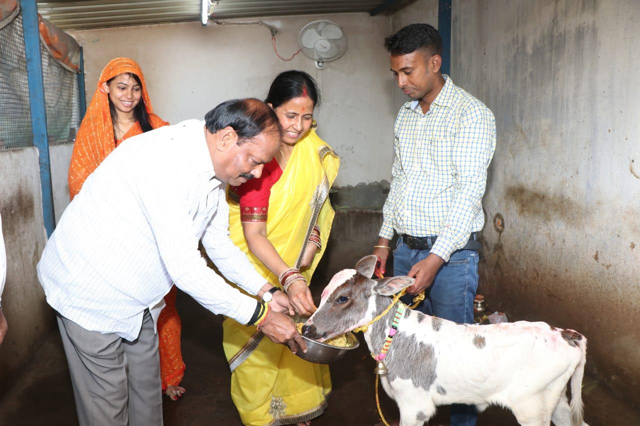 गौ धन परंपरा हमारी सांस्कृतिक विरासत और संस्कार का हिस्सा -रघुवर दास