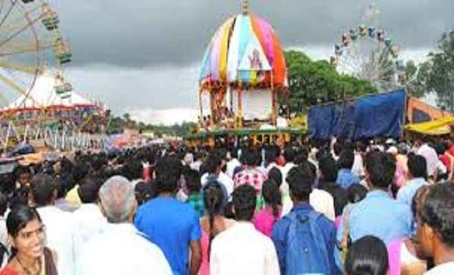 Like Puri,Rath Yatra devotees rock Ranchi