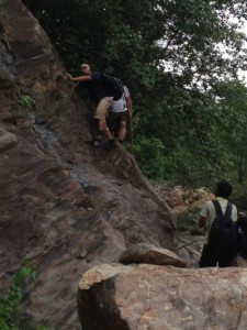CCL staff go for Rock & Rope Adventures