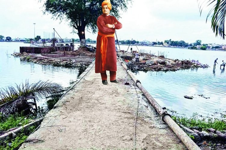 Ranchi Lake to get 33 feet tall Vivekananda's statue in 2019