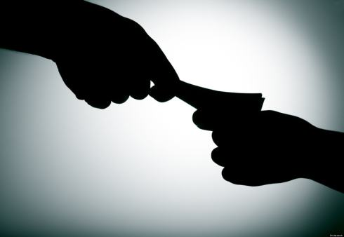 Revenue department employee held for graft