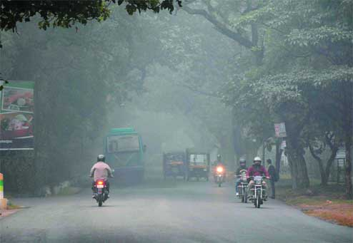 Drizzle,showers to make cold wave continue in Ranchi