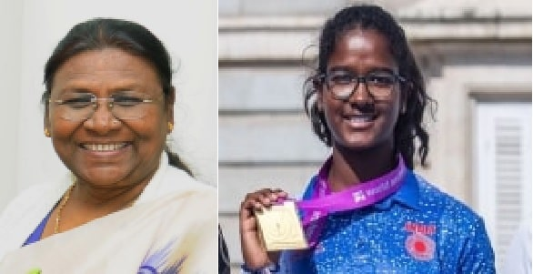 <p>Honorable Governor Draupadi Murmu has congratulated Komalika Bari on becoming World Champion in the Under-18 recurve women's section held in Spain. She said that not only the…