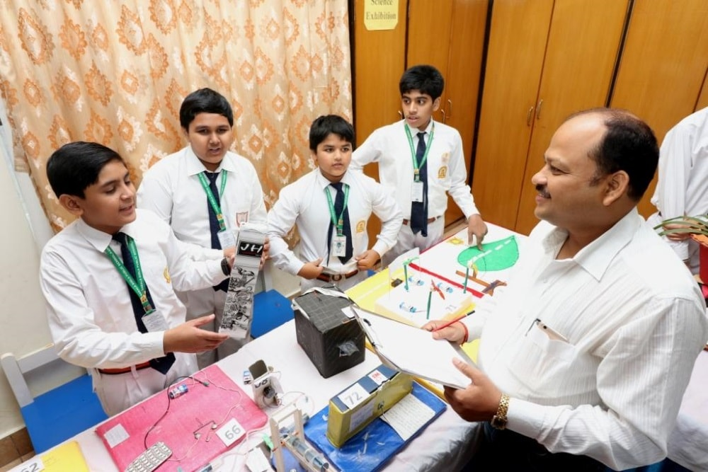 <p>Students of Std. VI-XII showcased their talent in the Inter-House Science, Social Science and Craft exhibition cum competition  organized at Sarla Birla Public School.</p>…