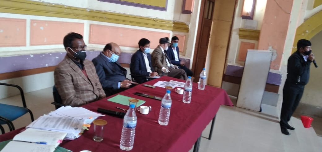 <p>Lecture about National Tobacco control programme and COTPA2003 took place among all principals of +12 schools of Ranchi in 4 sessions on Saturday.</p>