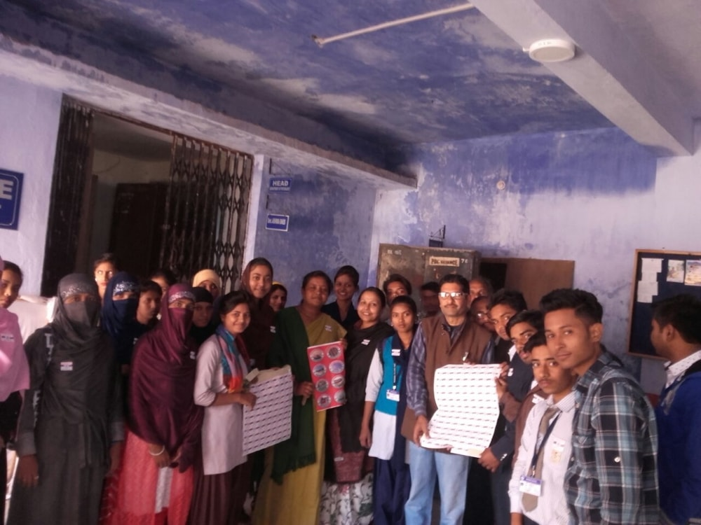 <p>Today, on the occasion of 'Armed Forces Flag Day 2017' organized by the National Service Scheme of Doranda College, a fund collection campaign was started between students…