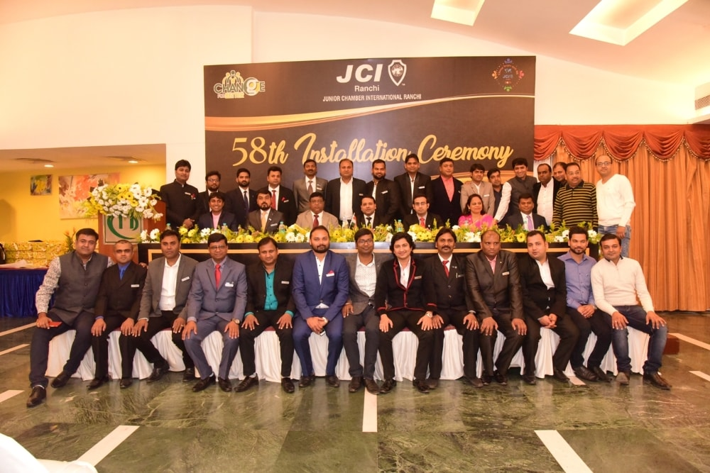 <p>On Sunday, JCI Ranchi celebrated its 58th Installation ceremony at city based hotel, Capitol Hill.Ranjit Prasad was the chief guest for the event.</p>