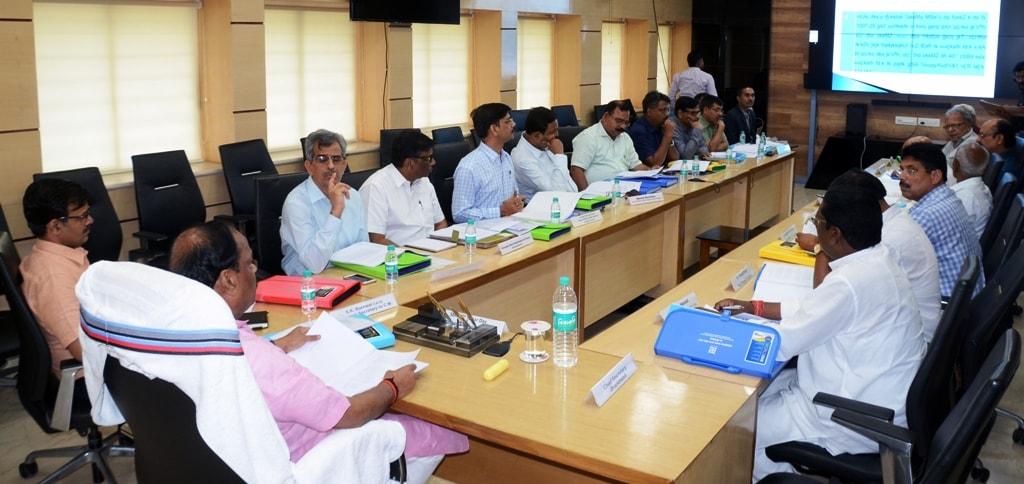 <p>मुख्यमंत्री ने आज झारखंड मंत्रालय में झारखंड राज्य वन्यजीव बोर्ड की दसवीं बैठक की अध्यक्षता की |</p>