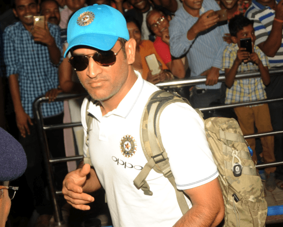 <p>After their emphatic win over the Autralians in the first T20 match in Ranchi, Team India leaves for Guwahati to play their next T20 match. M S Dhoni seen here at the Ranchi…