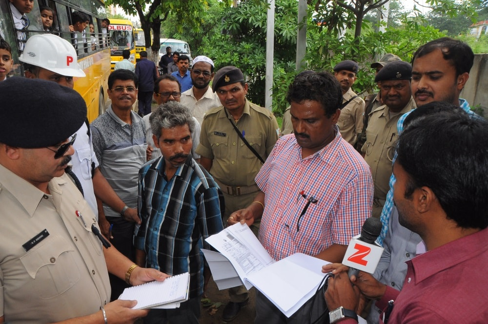 <p>Traffic SP Sanjay Ranjan Singh, DTO Nagendra Paswan and other officials called it a drive to check valid documents for safety arrangement and other items connected with the…
