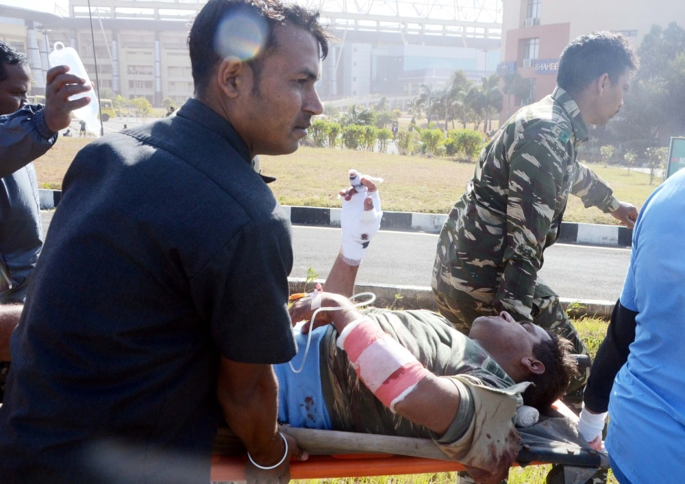 <p>CRPF jawan got bullet injuries during an encounter with the CPI Maoists while a search operation was being conducted near Jobhi village under Madhuban Police Station in Giridih…