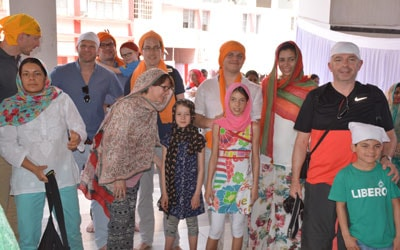 <p>Sikh community members were celebrating Vaisakhi,marking the Sikh new year and commemorate the formation of Khalsa panth of warriors under Guru Gobind Singh in 1699.It is also a…