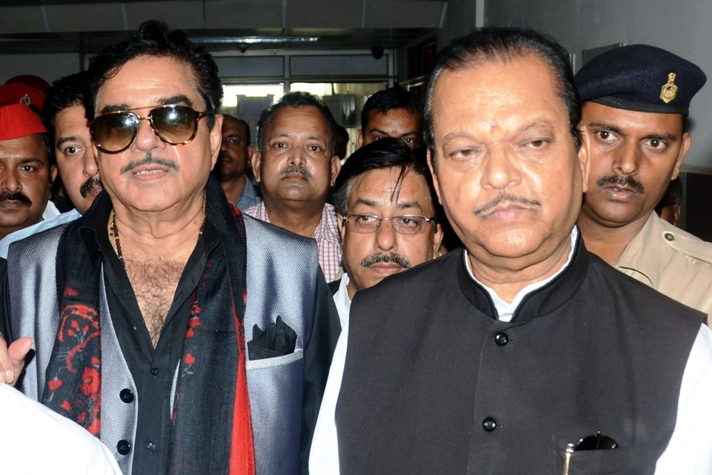 <p>Former Union Minister Subodh Kant Sahay and BJP MP Satrughan Sinha coming out of  RIMS after meeting with Lalu Prasad Yadav in Ranchi on Saturday. Lalu Yadav was sentenced…