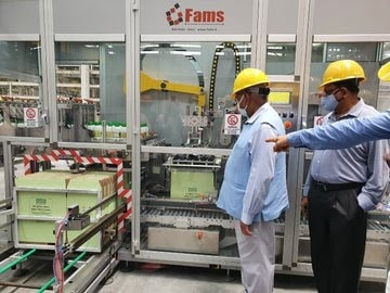 """<p>DV Sadanand Gowda has visited the world's 1st Nano Urea Plant set up by IFFCO at Kalol, Gujarat. Later Gowda tweeted, that it is """"Sophisticated plant fitted with world-class…"""