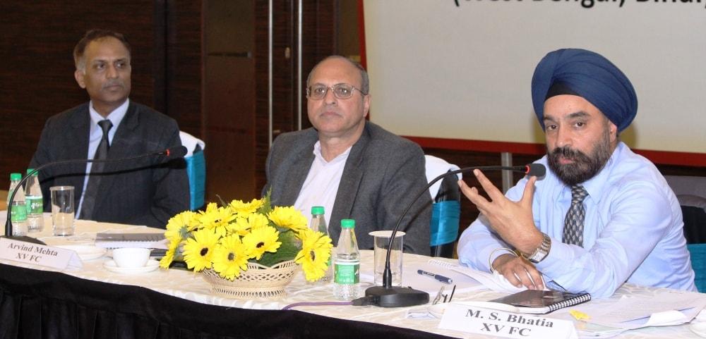 <p>15वें वित्त आयोग, नई दिल्ली के तत्वावधान में सचिव अरविंद मेहता एवं संयुक्त सचिव एम0एस0 भाटिया की अध्यक्षता में आज रांची में पूर्वी क्षेत्रीय कार्यशाला का आयोजन किया गया। इस कार्यशाला…