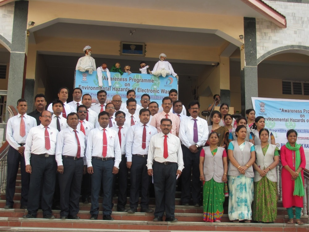 <p>An Awareness Programme on Environmental Hazards of Electronic Waste under the aegis of Ministry of Electronics and Information Technology and Bhartiya Lok Kalyan Sansthan, was held…