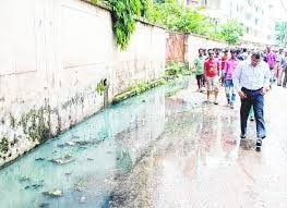 <p>Filthy drain water causing untold miseries to people near Harihar Singh lane in Ranchi,capital of Jharkhand where more than Rs 125 crore was spent in construction of drains two…