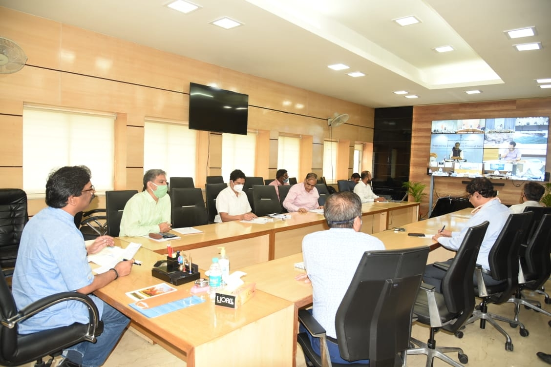 <p>Union Minister of State (Independent charge of Energy)Raj Kumar Singh held video conference today with Energy Ministers of all states including Jharkhand where Chief Minister Hemant…
