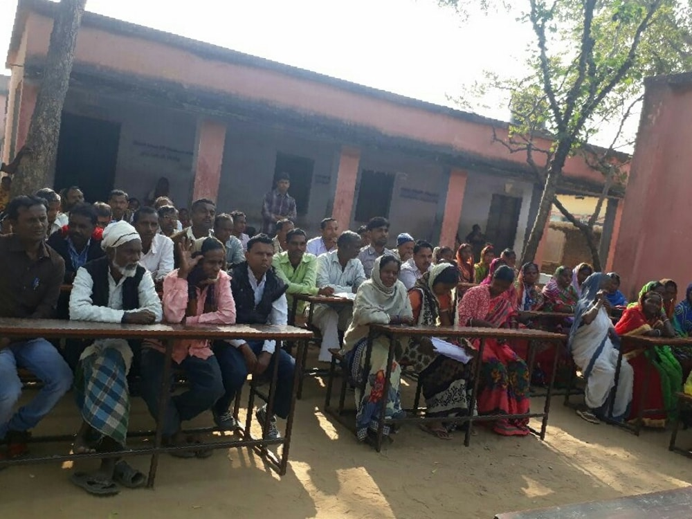 <p>Today a monthly meeting was held between the teachers and parents of Manjuara Panchayat in the courtyard of Middle School Manjora. The meeting was chaired by Naresh Kumar Mahato,…
