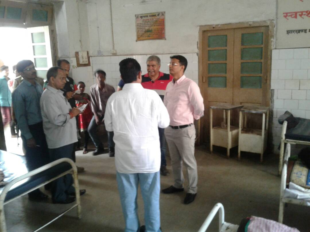 <p>Jharkhand government run  Sadar Hospital was in a state of expose of its dirt,filth and poor health service provided to patients in Giridih,This happened due to surprise visit…
