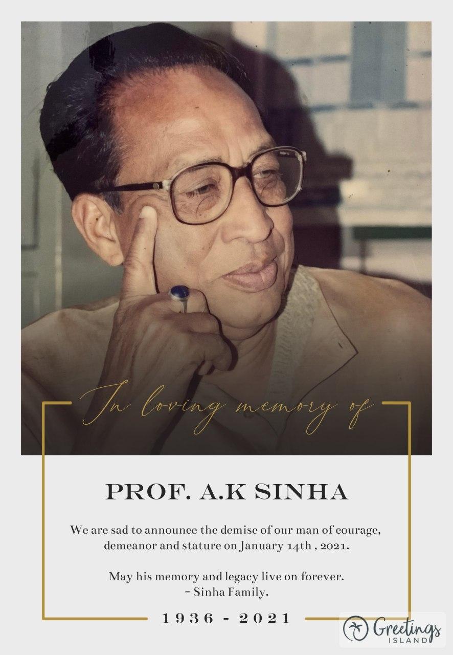 <p>शिक्षाविद अजीत कुमार सिन्हा का निधन अपूर्णीय क्षति : प्रणव कुमार बब्बू.</p> <p>अखिल भारतीय कायस्थ महासभा के प्रदेश अध्यक्ष डॉ.प्रणव कुमार बब्बू ने कहा है कि वरिष्ठ विद्वान एवं सुप्रसिद्ध…