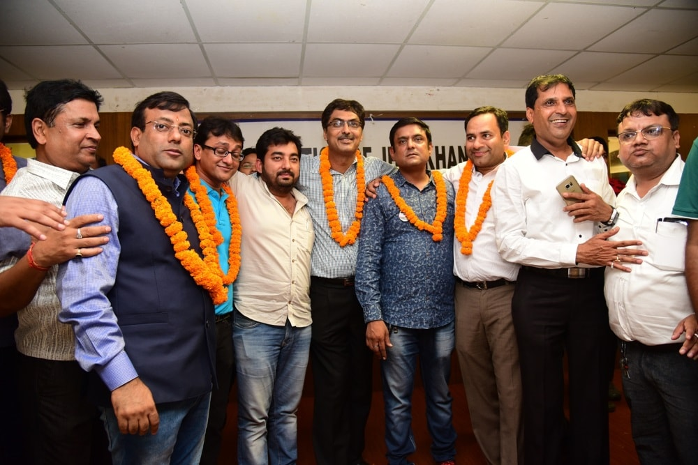 <p>Jharkhand Chamber of Commerce and Industry election 2017 was won by Ranjit Team 27-8-17.The winners were in cheers.</p>