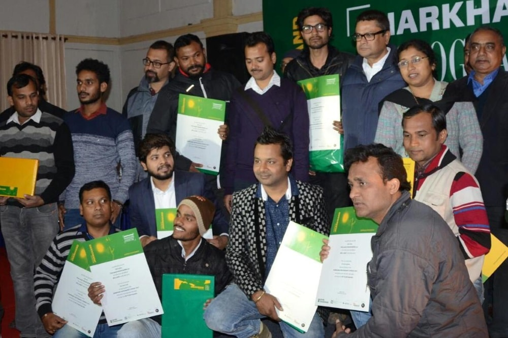 <p>Chief Minister along with Sanjay Kumar, Principal Secretary, Information and Public Relations Department, addressed the people and presented prize at the prize distribution…
