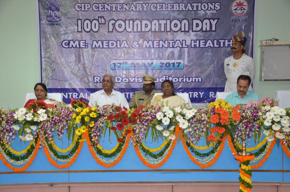 <p>Jharkhand Governor Draupadi Murmu today participated in the centenary celebration of CIP Ranchi</p>