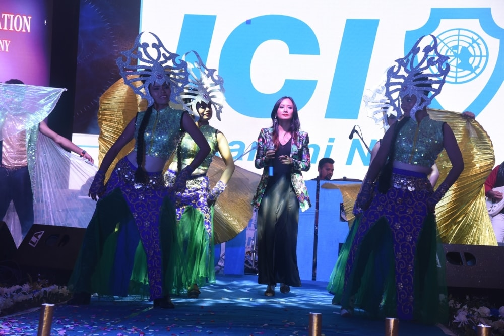 <p>A vibrant and colourful cultural programme was organised at JCI, Ranchi on Monday.</p>