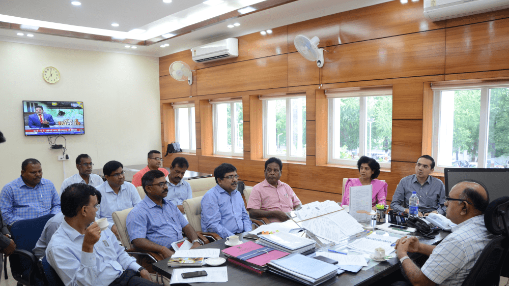 <p>In the chairmanship of Principal Secretary, Cabinet Secretariat and Vigilance Department, a meeting was organized in the Jharkhand Secretariat about the preparations for the main…