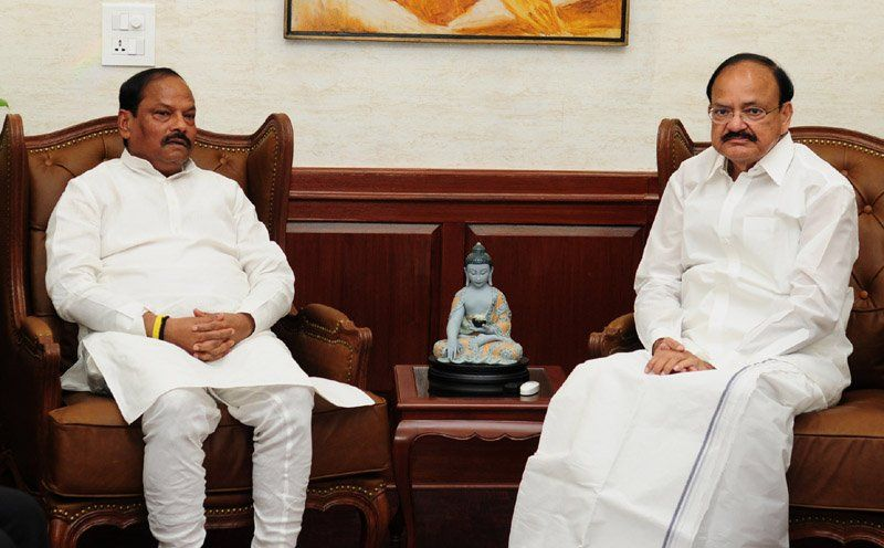 <p></p>  <p>Chief Minister Shri Raghuvar Das met withVice President Mr.Venkaiah Naidu in New Delhi on tuesday.</p>