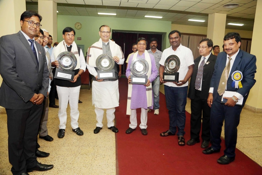 <p>MoS for Civil Aviation Jayant Sinha, Minister of State for Agriculture Sudarshan Bhagat, Minister of State for Chemicals and Fertilizers Mansukh Mandaviya, Jharkhand's Sports…