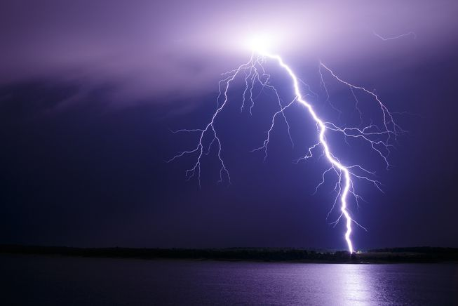 <p>Lightning struck near Ranchi in Budmu causing shock and injury to three persons including a woman on Thursday-Friday night. The incident took place at Mandhania Naik Toli in Juhuru…