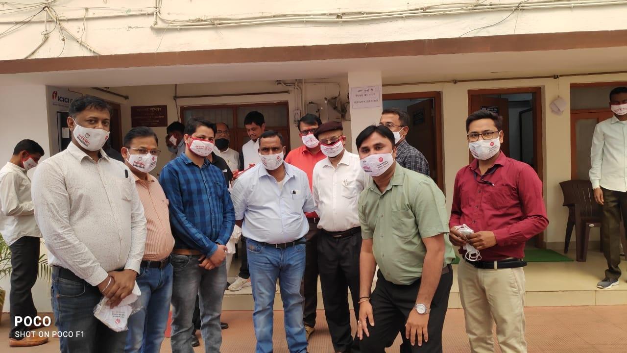 "<p>Selfie Mask Campaign:With Jharkhand Health Minister,Selfie Mask Campaign was launched before the world TB day ,on March 24,2021."" TB Harega Desh jitega) End TB 2025, TB Mukt…"